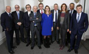 La commission Prix Ulysse au diner annuel - décembre 2017