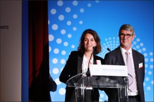 Remise du Prix Ulysse 2019 Skill&You Sonia Levy-Odier Eric Petco, Président