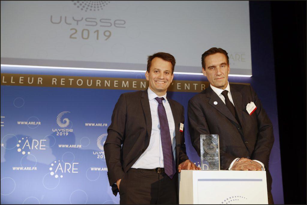 Remise du Prix Ulysse 2019 CARBONE SAVOIR Sebastien Gauthier Nicolas de Germay, Alandia Industries