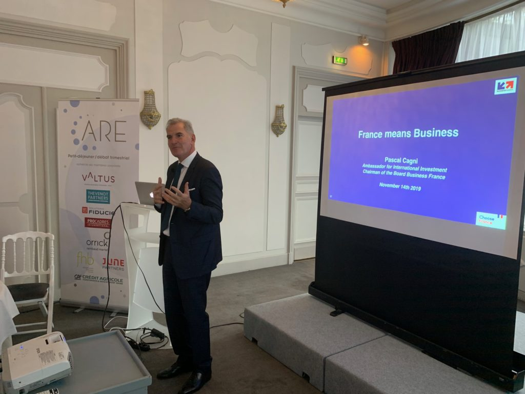 Pascal Cagni, Business France
