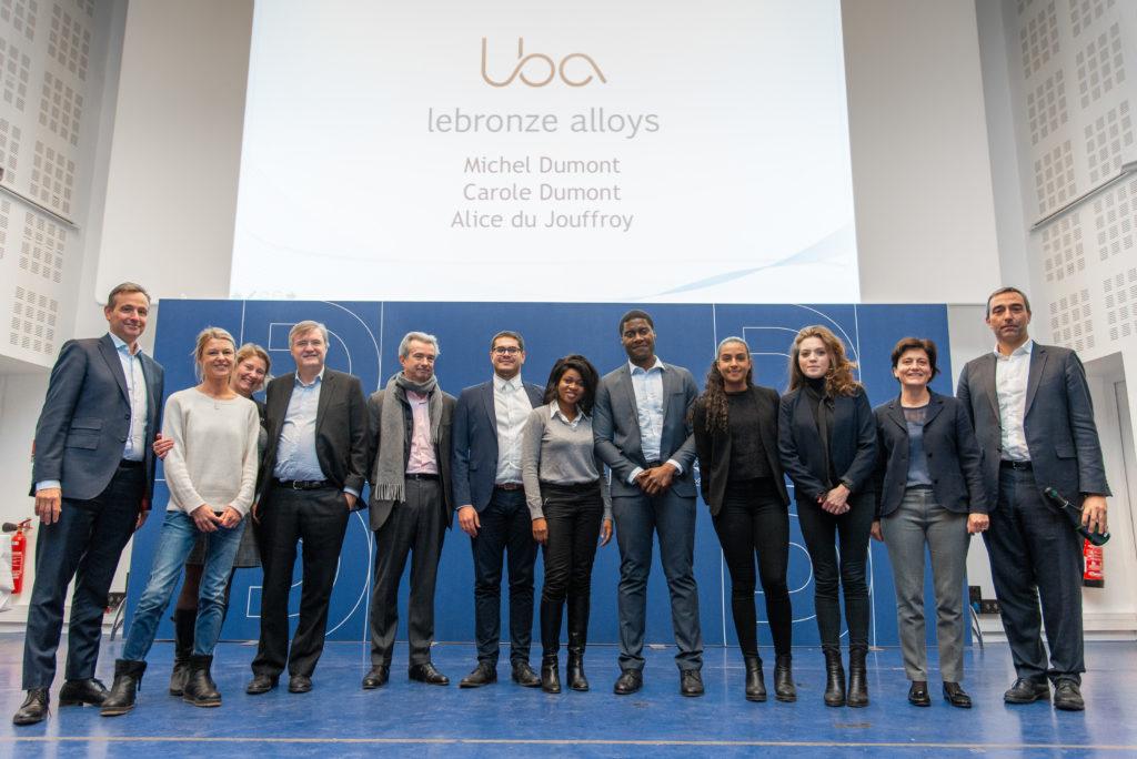 Equipe gagnante LBI